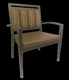 Senior Living Aluminum Wood Grain Seating Duracare - Bariatric furniture for home